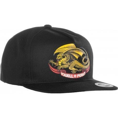 a10bcf1c POWELL PERALTA Oval Dragon Snapback Cap – Al Carrer Skate Shop
