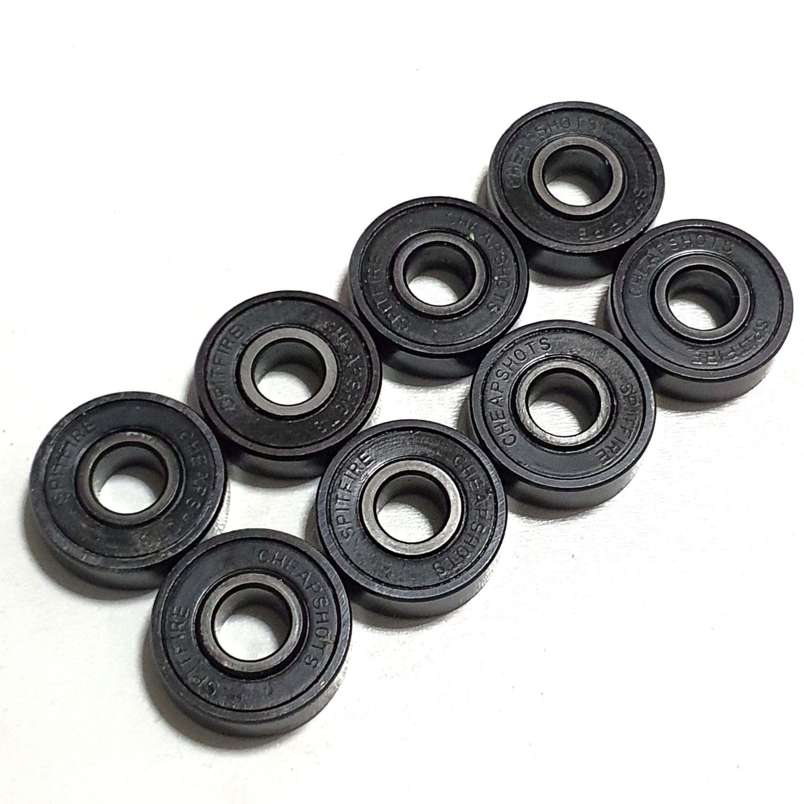 Spitfire Cheapshot Skateboard Bearings 8 Pack