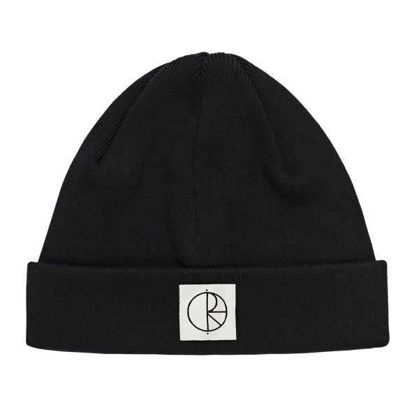 Polar Double Fold black beanie.jpg